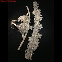 Индивидуальные танец живота роскошный алмаз бюстгальтер ремень 2 шт. комплект для женщин Oriental индийский для танцев, соревнований, выступлен