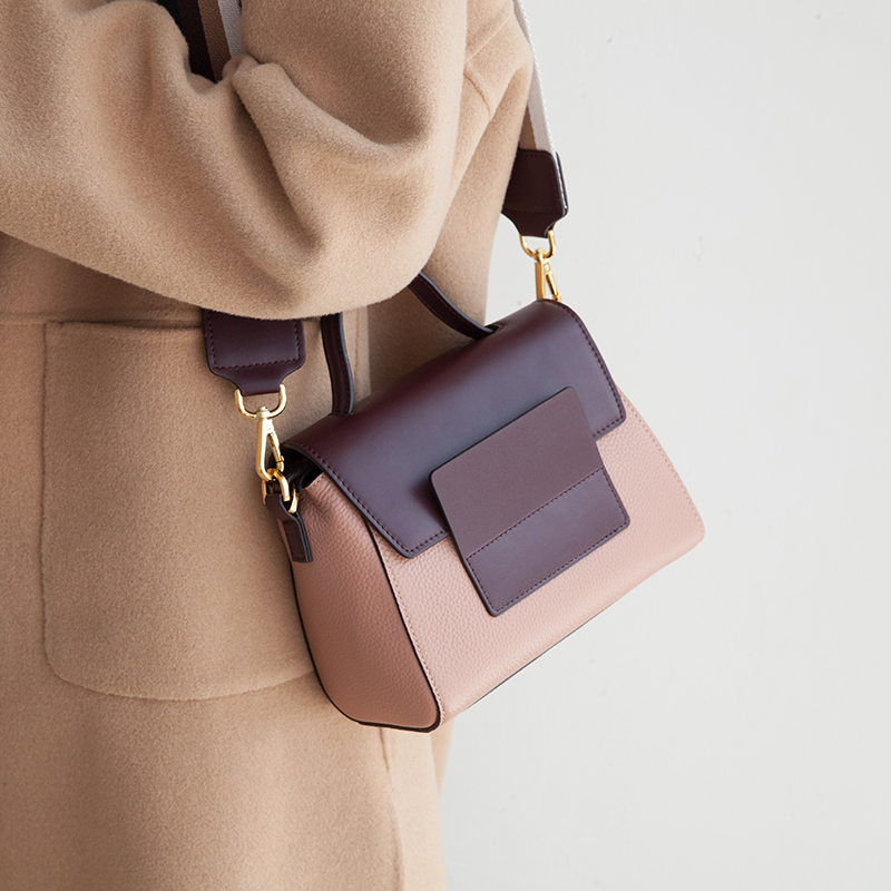 VENOF mode rétro large bretelles en cuir véritable sac à bandoulière pour les femmes de luxe sac à bandoulière femmes exquis dames sacs à main 2018