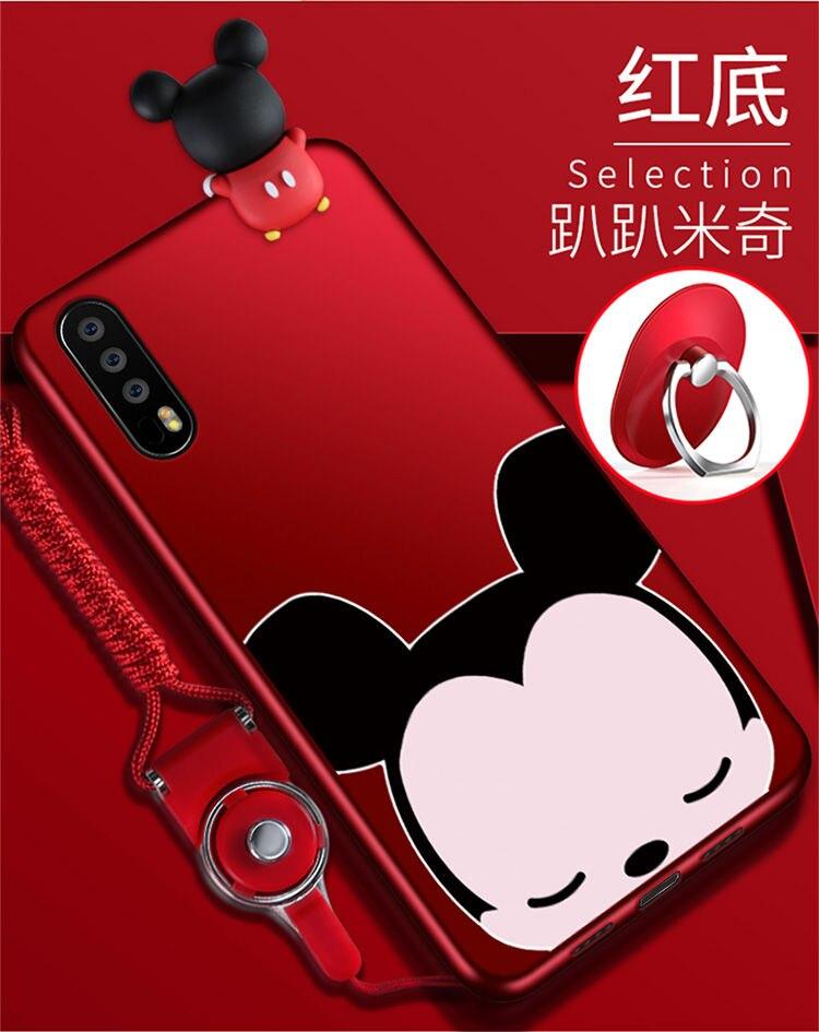 Huawei P20 Pro cas de silicium, mode de luxe série de lapin, anti-chute protection couverture arrière pour huawei P20 Pro téléphone sac cas