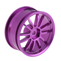 New Arrival 3 Colors Aluminum 6 Spoke Wheel Rim For 1 10 RC On Road Racing