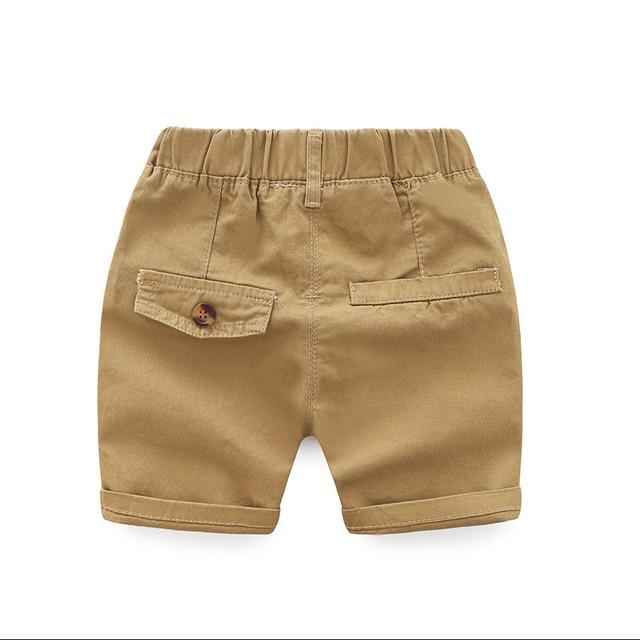 Summer Cotton Boys Shorts Toddler Casual Pantaloncini Trousers Kids Clothes Baby Short Boy Bottom Children Clothing Spodenki