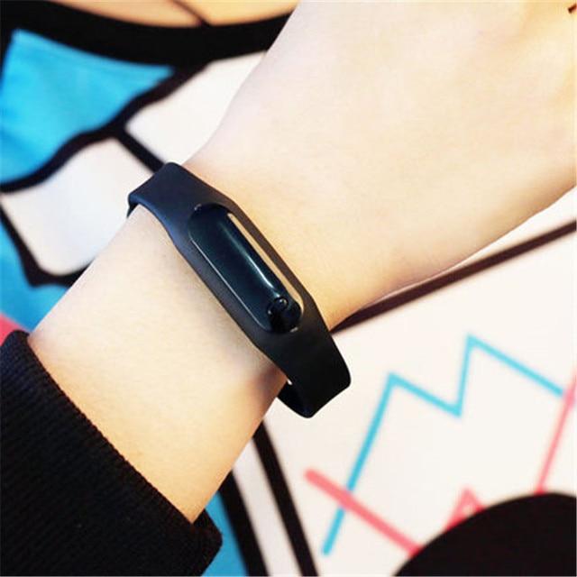 relojes mujer Women LED Digital Silicone Date Women Watch Adjustable Waterproof