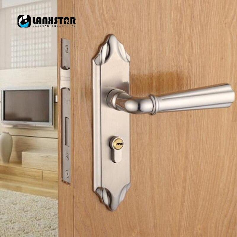 New Design Split Style Engineering Locks Iron Door Knob Wood Door ...