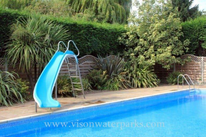Backyard Villa Swimming Pool Fiberglass Slide In Ground Pool Slides Aliexpress