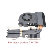 Nokotion For acer aspire V3 771G heatsink fan work with nvidia graphics Tested