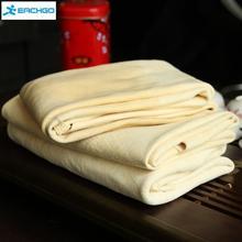 Экстра большая автомобильная натуральная сушильная замша (45x55 см прибл.) Deerskin Cleaning Cham кожаная ткань