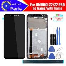 ЖК дисплей UMIDIGI Z2 6,2 дюйма + кодирующий преобразователь сенсорного экрана в сборе, 100% Оригинальный Новый ЖК дисплей + сенсорный дигитайзер для UMIDIGI Z2 PRO + Инструменты