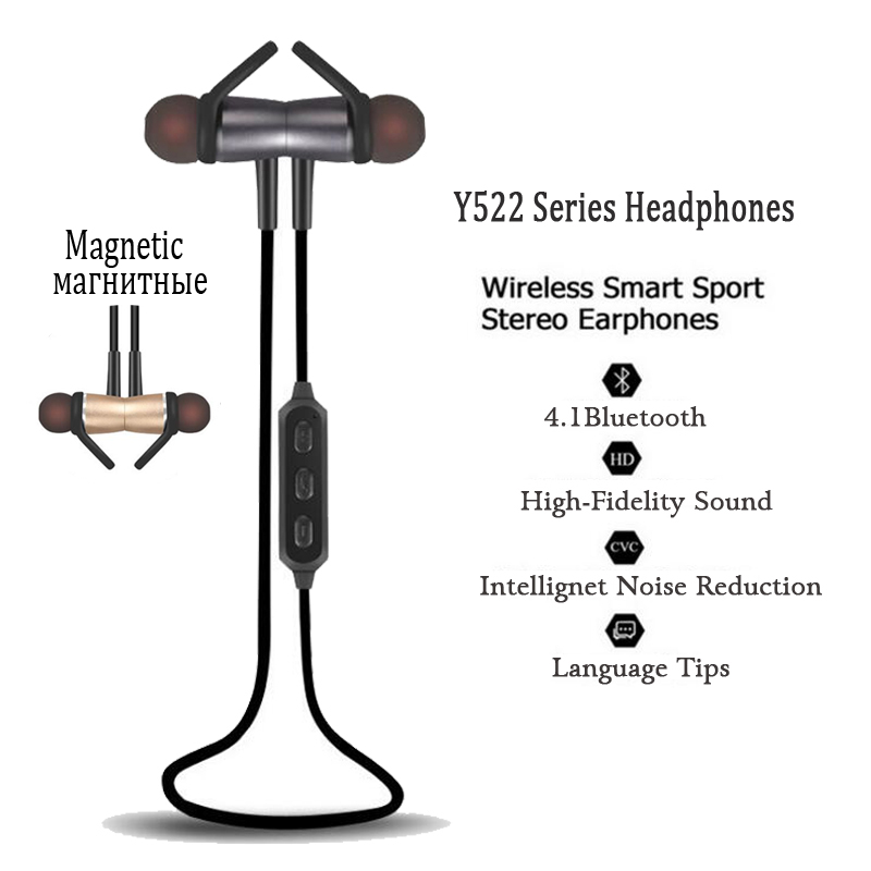 Sports Running Headphones Earpiece Bluetooth Headset Wireless Earphone Headphone Bluetooth Earpiece with Mic Earbuds For phone