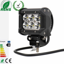 2 Pieces/Lot 4inch 18W LED Spot Light for Motorcycle Tractor Boat Off Road Truck SUV Working Lamp 12V/24V