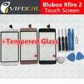 Bluboo Xfire 2 сенсорный экран + Инструменты Подарочный Набор 100% Оригинал Дигитайзер стеклянная панель Замена Тяга для сотового телефона