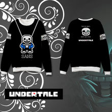 OHCOMICS Anime Game Undertale Unisex Cotton Hoodie Casual Coats Sweatshirt Halloween