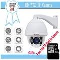 Blue iris cctv 1080 p 2mp 20x zoom auto tracking ptz câmera motion detecção de alta velocidade 150 m onvif rede câmera ip