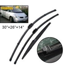 Misima Windscreen Wiper Blades Set For Renault Espace 4 IV Front Rear Wiper 2003 2004 2005 2006 2007 2008 2009 2010 2011 2012 13