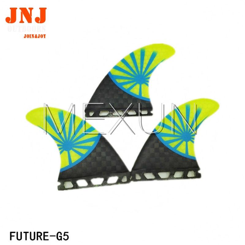 GRATIS PENGIRIMAN fiberglass karbon masa depan Tri-set M sirip meja surfing sirip masa depan M 3 pcs satu set