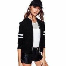 2018 New Long Sleeve Baseball Jacket Outwear Bomber Jacket B