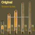 25 W 40 W 60 W T10 Lâmpada T185 Edison Vintage T225 T26 T30 Flauta Lâmpada Incandescente E27 Edison Lâmpada 110 V 220 V