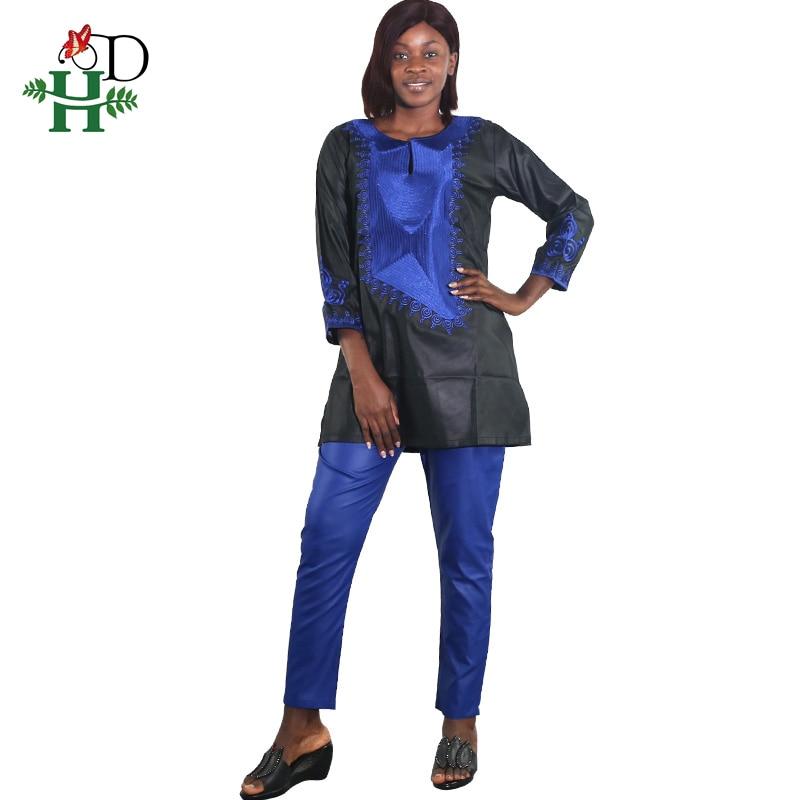 e91181e5e041ca Azul Riche Mujer D Diseño Vestidos De Bazin Africana Ropa Conjunto Bordado  2018 Con Tradicional Hamp; ...