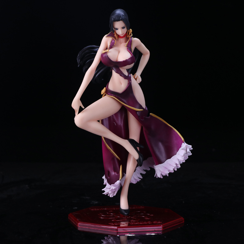 Toys & Hobbies Frank Anime One Piece Flag Diamond Ship Boa Hancock Sexy Pvc Action Figures Collection Model Toys Doll 16cm