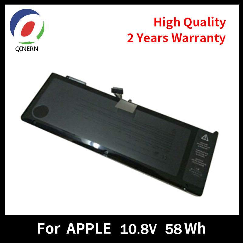 QINERN 10.95V 73Wh Laptop Battery For APPLE A1382 Macbook battery For Macbook Pro15'' laptop model A1286 Year 2011 new a1382 battery for apple macbook pro 15 a1286 2011 2012 series laptop