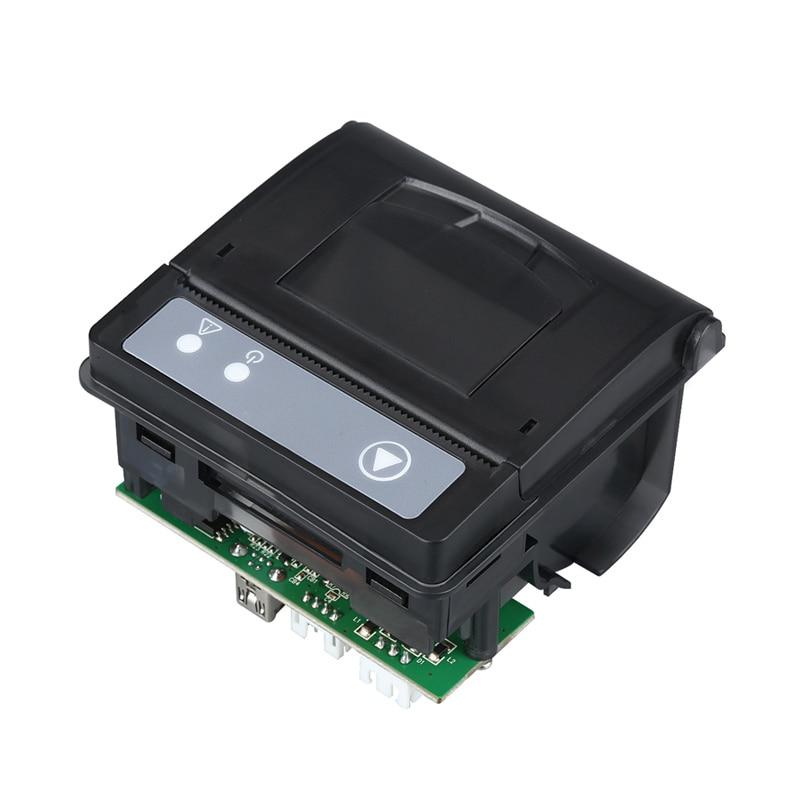 58mm drukarka biletów termicznych panel TTL i interfejs USB wbudowany druk podparcie maszyny sprzęt automatyczny druk QR23