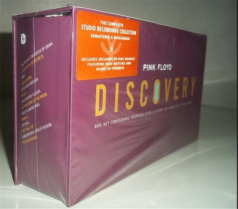 где купить Free Shipping: Pink Floyd Discovery 16CD exquisite package sealed по лучшей цене