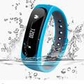 Waterproof bluetooth smart band E02 Call SMS Remind wristband fitness bracelet sprot tracker monitor Anti-lost For IOS Android
