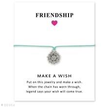 Daisy Flower Baby Feet Key Eiffel Tower Skull Bow Arrow Charm Card Bracelets Women Men Girl Boy Jewelry Gift Custom Colors