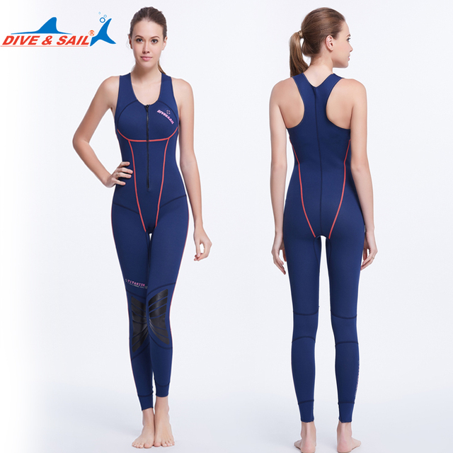36cebf1f79 Dive Sail 1mm womens Heated Wetsuit Vest neoprene sleeveless one-piece swimming  diving vest women