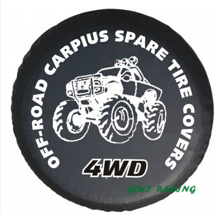 PVC spare wheel cover Car Spare Tire Cover PU custom Tyre Cover car tire covers 13