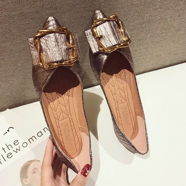 designer shoes women luxury 2018 flat shoes woman flats loafers women shoes black gold red slip on shoes for women creepers
