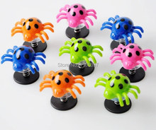 New free ship 24X FUN spring bounce bouncing spider jump jumping insects party toys gifts loot bag pinata stock fillers prizes(China)