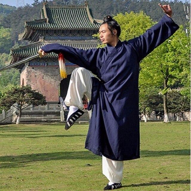 b3f6fc047660e Os Meninos dos homens de Alta Qualidade de Linho Roupas de Artes Marciais  Tai Chi Kung