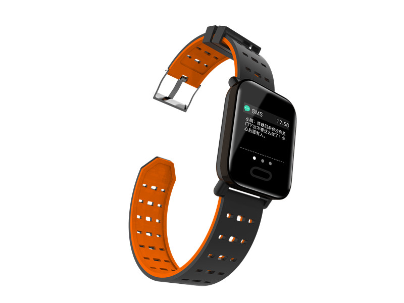 mafam A6 Smart Watch Heart Rate Monitor Sport Fitness Tracker Sleep Monitor blood pressure Waterproof Sport Watch Band for IOS Android (21)