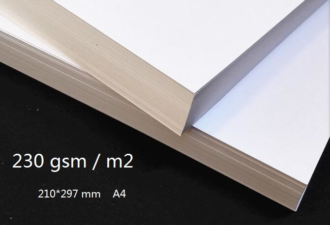 A4 230gsm Plain Off White Matt Thick PAPER Blank Cardstock Cardboard Craft Papers 2 to 100 Sheets a4 colored cardstock 230gsm deep color papers for craft card making red blue dark brown merlot red deep green 10 20 sheets