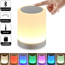 Colorful LED Lights Bluetooth Speaker Smart Bluetooth Portable Wireless Subwoofer Loudspeaker for Iphone Android MP3 Car Outdoor цена и фото