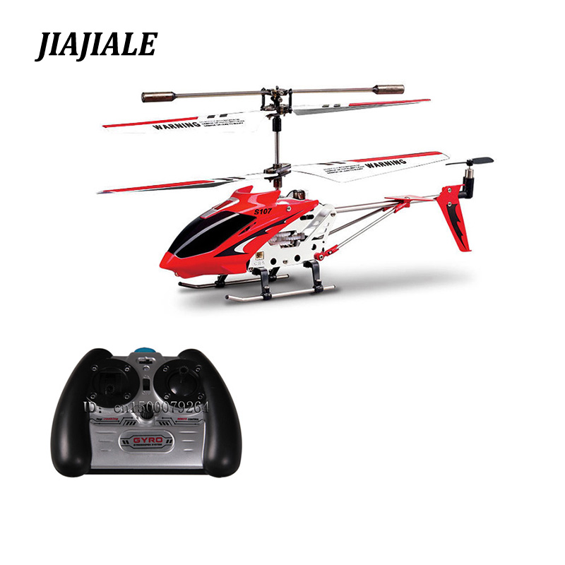 Free Shipping Original Syma S107 s107g Metal 3.5CH Mini radio remote control RC Helicopter drone with gyro flying toys цена