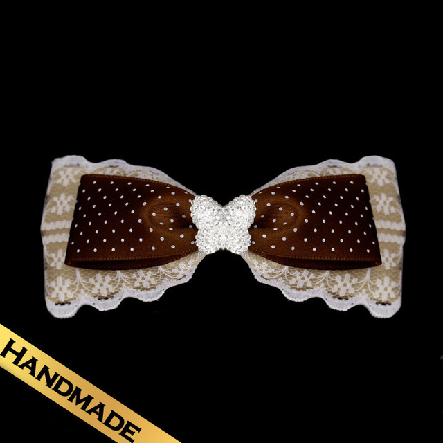 Special Hair Accessories Silk Bow Fashion Sweet Design  Hairpin Free Shipping FS13A0831