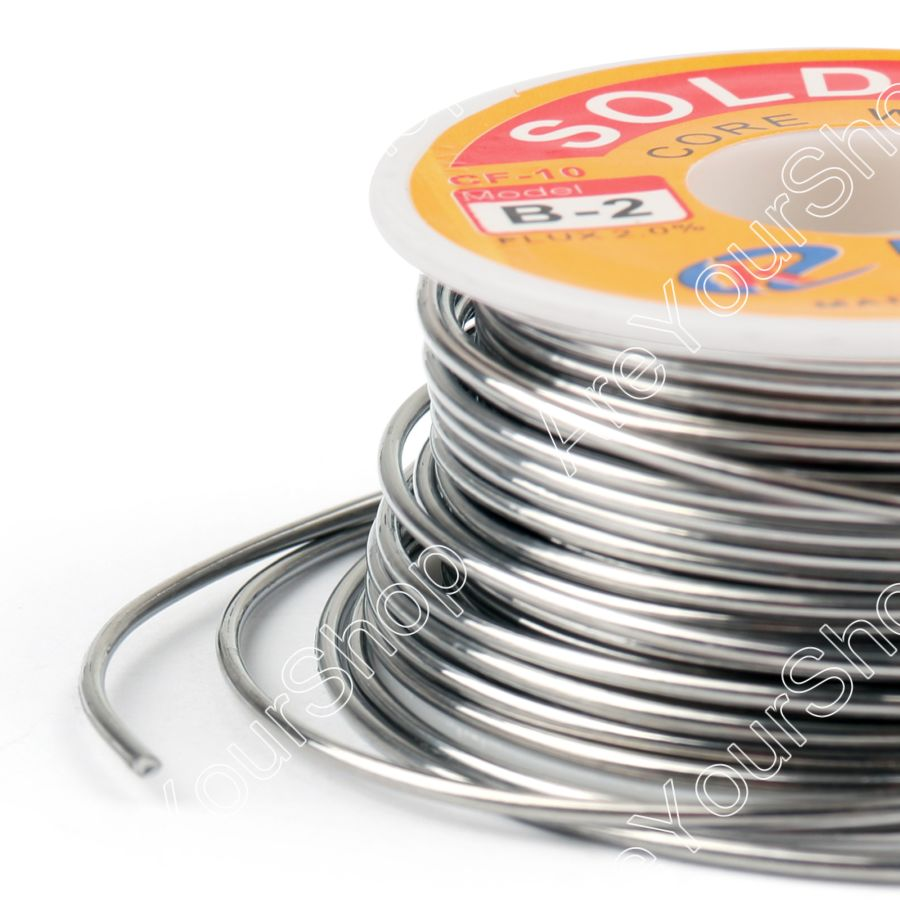 Areyourshop Sale 1.5mm 100g 63/37 Tin lead Rosin Core Solder Wire Soldering Welding Flux 2% Iron Wi цена
