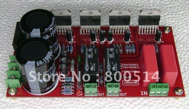 YJ-TDA7294 BTL усилитель Мощности плата 150 Вт + 150 Вт со Спикером pritection