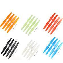 Vente chaude Coloré Hélices Pour Syma X8c/x8w/x8g/x8hg/x8hw Rc Hélicoptère Vis Rc Quadcopter lame Pièces Drones Pièces De Rechange