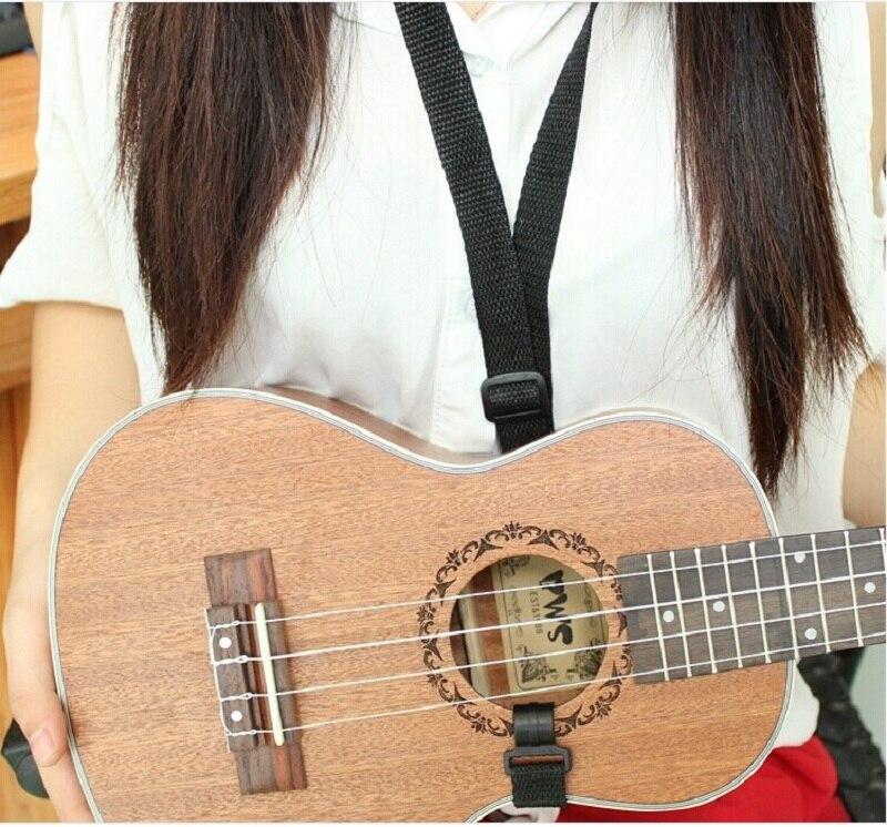 Ukulele Strap Thick Small Guitar Strap Nylon Sling Ukelele Straps Shoulder Adjustable Belt Guitars Durable Instrument Acessories