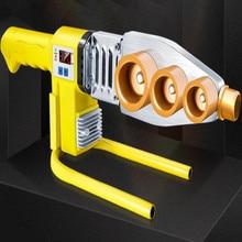 220 В 1/2 3/4 1 дюйм термофузионная Сварка труб постоянная температура цифровой PE PB maquina cola ppr сварочный аппарат сантехник инструмент