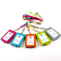 Work Certificate Card Set Neck Hanging Card Package Traffic Badge Clip Bank ID Card Badge Holder