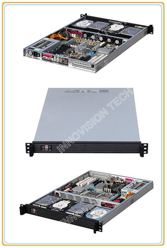 Compact 1U rackmount chassis RC1650 with Stylish Aluminum front-panel server case compact 1u rackmount chassis rc2650 with elegant aluminum front panel
