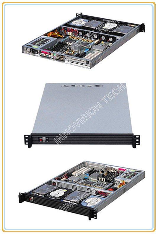 все цены на  Compact 1U rackmount chassis RC1650 with Stylish Aluminum front-panel server case  онлайн