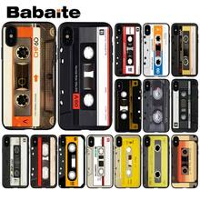 Babaite Retro Camera Cassette Tapes TPU Soft Phone Case Cover for Apple iPhone 8 7 6 6S Plus X XS MAX 5 5S SE XR Mobile Cover(China)