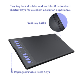Image 4 - Huion Inspiroy Q11K 무선 디지털 그래픽 그리기 태블릿 펜 페인팅 태블릿 8192 레벨 8 익스프레스 키와 펜 홀더