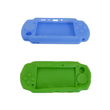 цена на 5PCS Soft Silicone Case housing shell Skin Cover For PSP 3000 protective housing  Case Cover For PSP3000 free shipping