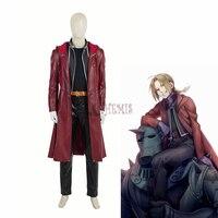Athemis Movie Fullmetal Alchemi Cosplay Edward Elric Cosplay Costumes High Quality Custom Made