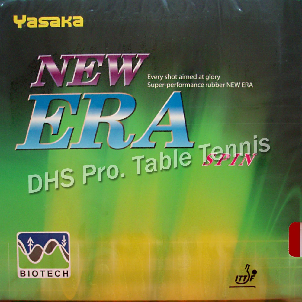 Yasaka NEW ERA SPIN BIOTECH Pips-In Table Tennis Rubber With Sponge NO ITTF